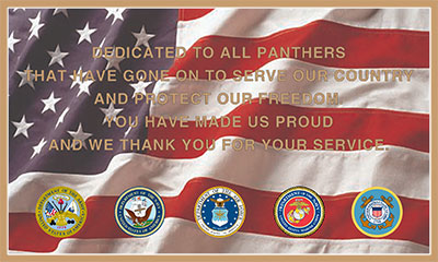 five military seals on color military plaque full color military plaques with us flag custom color military plaque